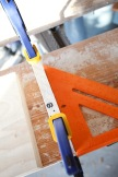 Create a jig to keep the drying wood layers square