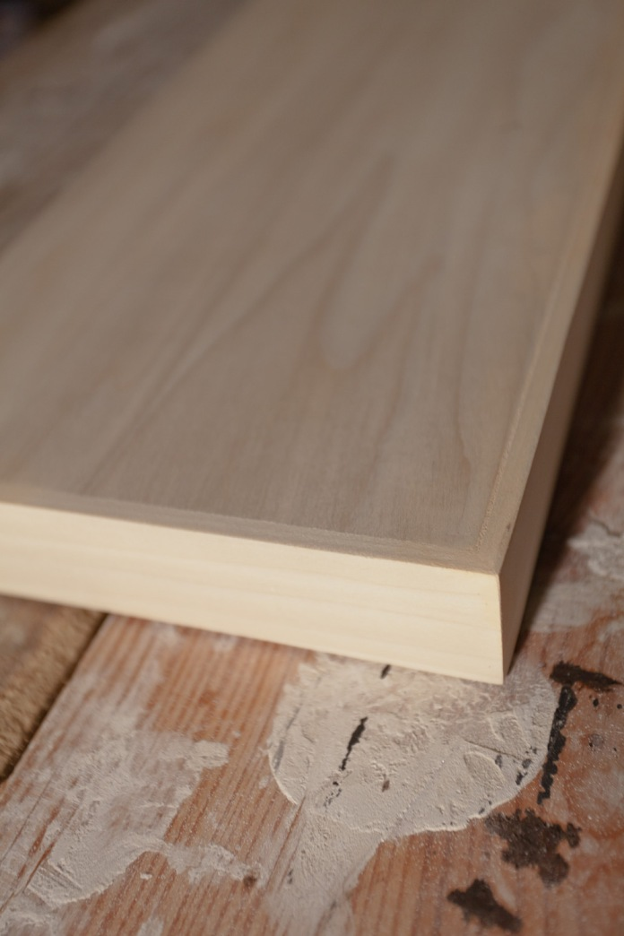 Smooth and square, this shelf is ready to go into makeup.